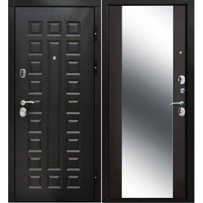 Входная дверь Италия 3К зеркало венге
