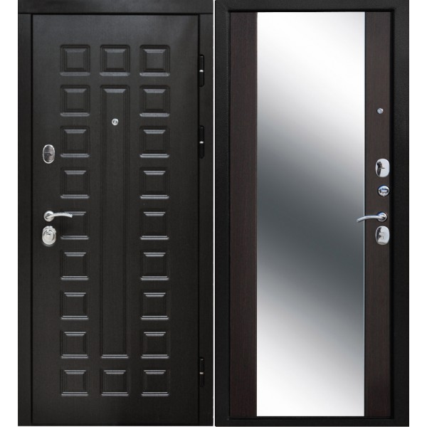 входная дверь Сенатор с зеркалом
