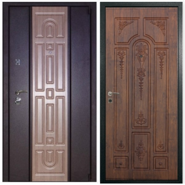 Входная дверь Persona П-72  с объёмным 3D рисунком