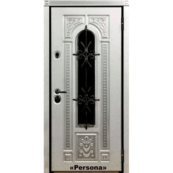 Уличная дверь Лацио Персона белая