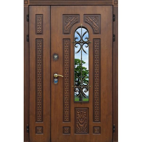 уличная дверь Лацио  Двустворчатая 1200х2050