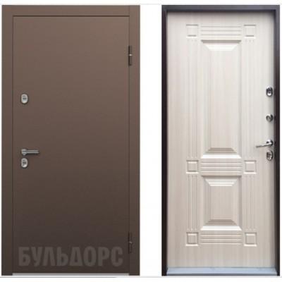 входная дверь Бульдорс Термо-1 Белый перламутр