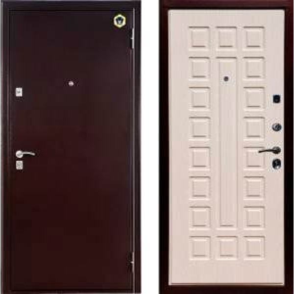 Входная металлическая дверь Бульдорс 13 вариант 1