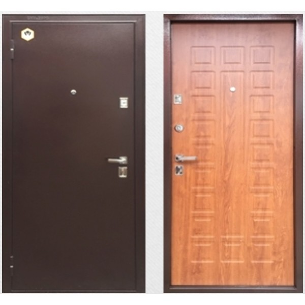 Входная металлическая дверь Бульдорс 13 вариант 2