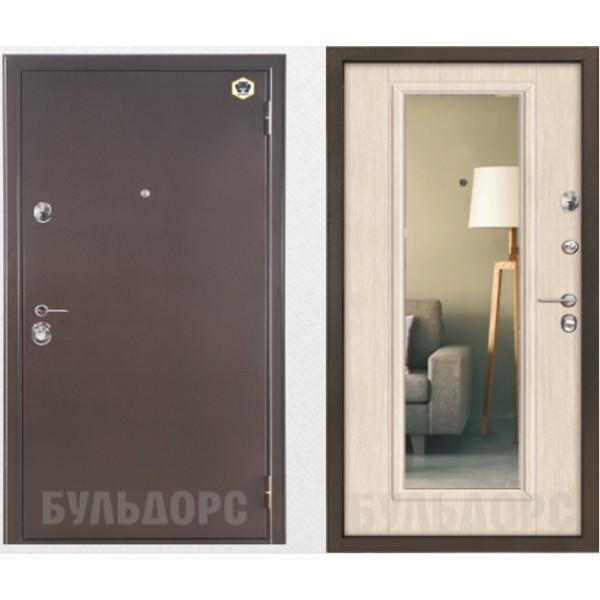 входная дверь с зеркалом  Бульдорс 14T №2