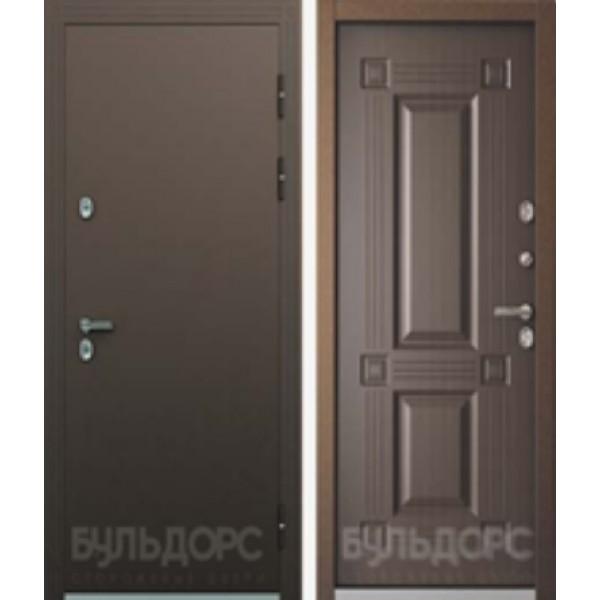 Уличная дверь Бульдорс Термо-2 Венге конго с терморазрывом