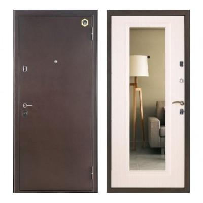 """дверь Бульдорс 14T с зеркалом, Цвет """"Шамбори светлый"""""""