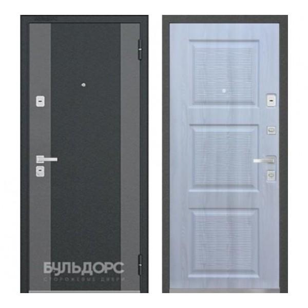 """входная  дверь Бульдорс 44 Конструктор """"K-2 / N-15 Ясень ривьера айс"""""""