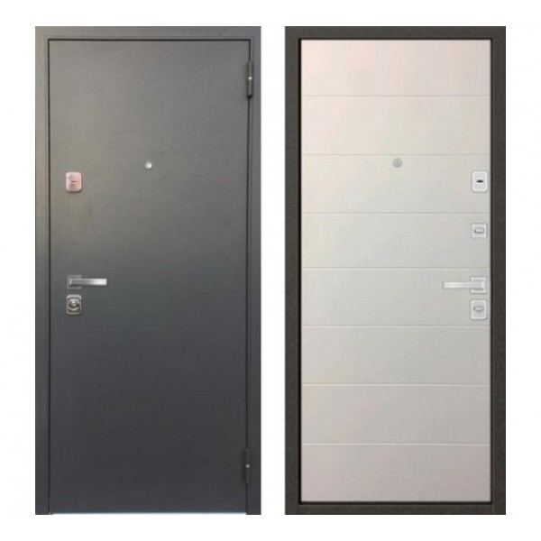 """входная дверь Бульдорс 44 Конструктор """"MS-11 Софт белый"""""""
