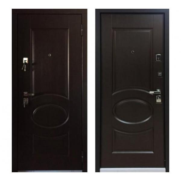 "дверь Бульдорс 45 ""N-8, Лиственница шоколад"""
