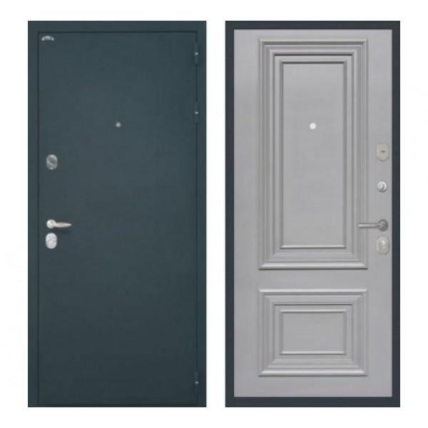 """входная дверь Интекрон Колизей, Цвет """"RAL 7037"""""""