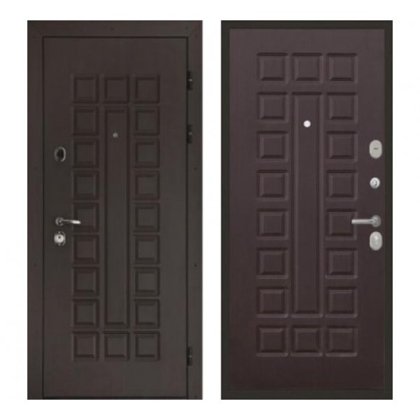 """входная  дверь Интекрон Сенатор """"Венге / Венге"""""""