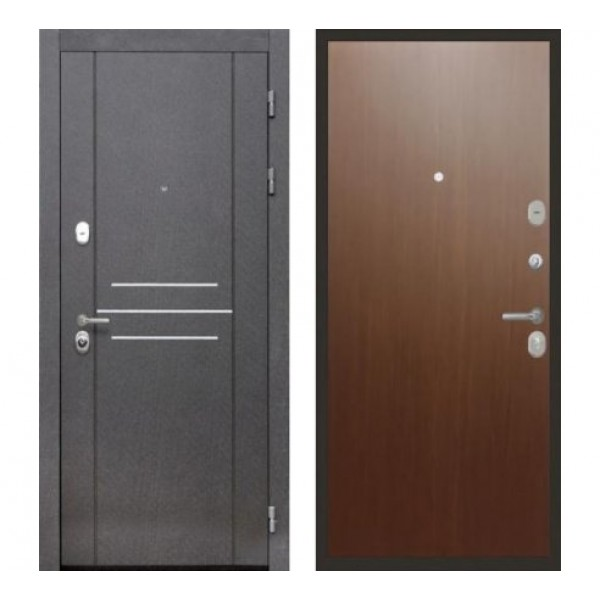 """входная  дверь Интекрон Сенатор Лофт, Цвет """"Дуб кантри"""""""