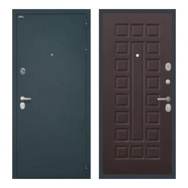 """входная  дверь Интекрон Колизей """"Шелк / Венге"""""""