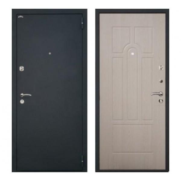 """входная дверь Интекрон Аттика, Цвет """"Беленый дуб"""""""