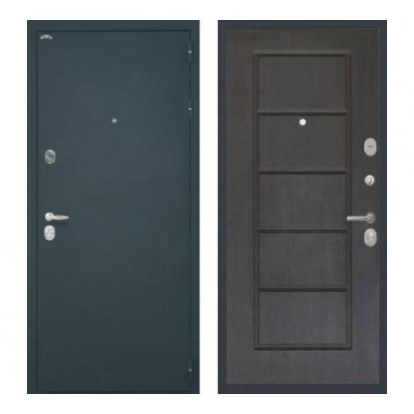 """входная дверь Интекрон Колизей ФЛ-39, Цвет """"Орех премиум"""""""