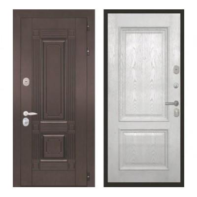 """дверь Интекрон Италия """"Валентия 4 / Ясень жемчуг"""""""