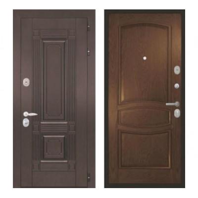 """дверь Интекрон Италия """"Позитано / Дуб бургундский"""""""