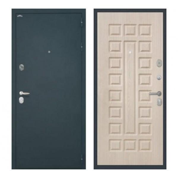 """входная дверь Интекрон Колизей """"Шелк / Беленый дуб""""  ФЛ-183"""