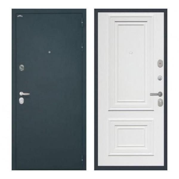 """входная  дверь Интекрон Колизей, Цвет """"RAL 9003"""""""