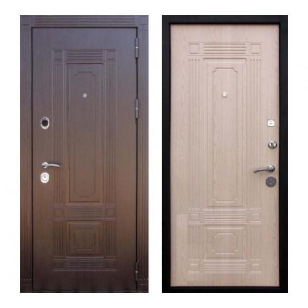 """входная дверь Кондор Мадрид, Цвет """"Беленый дуб"""""""