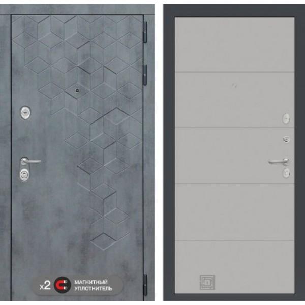 входную дверь  Labirint Beton 13 Грей софт