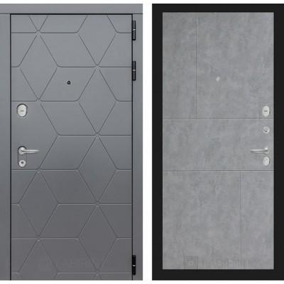Входная дверь Labirint  COSMO 21 - Бетон светлый