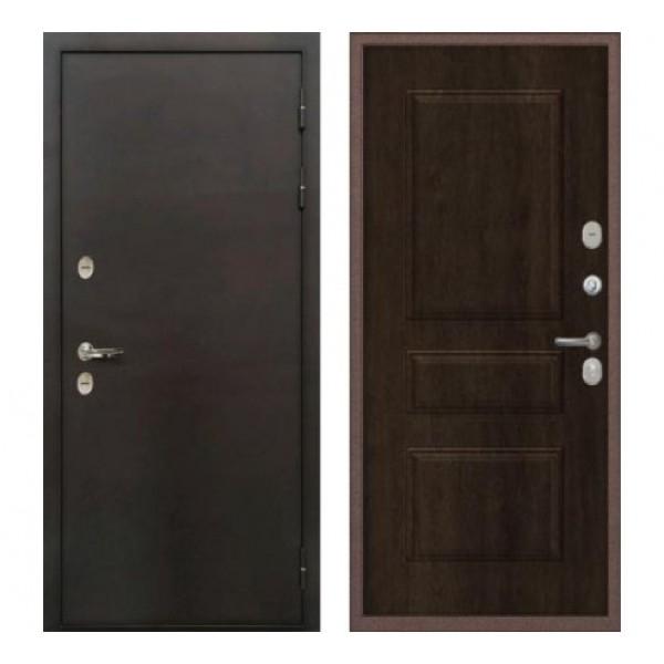 уличная дверь Лекс Термо Сибирь 3К цвет:  Алмон 28