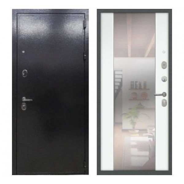 дверь Лекс Колизей Циркон Зеркало  №61 экошпон