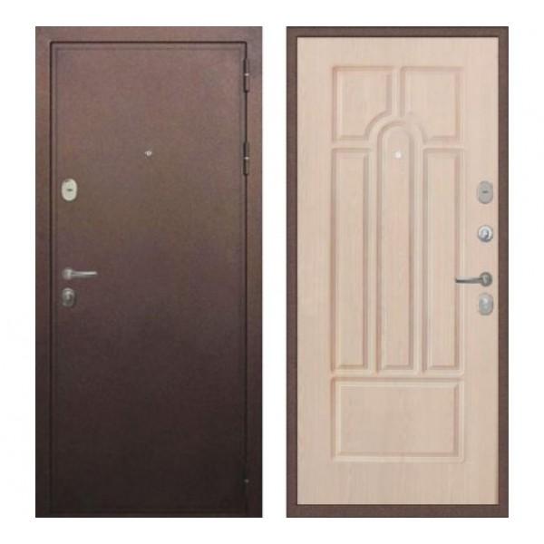 входная дверь Лекс 5А Цезарь (Антик медь / Дуб беленый) - панель №25: