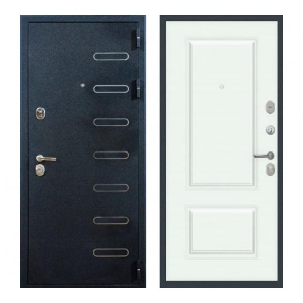 входная дверь Лекс Витязь №55 эмаль белая