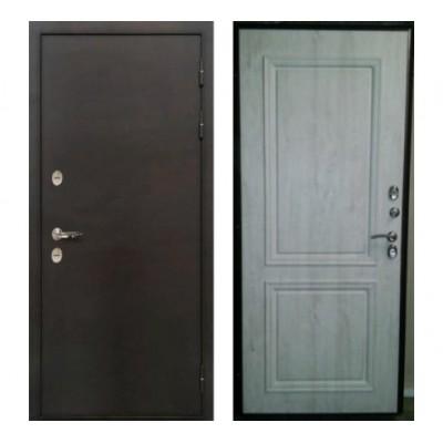 уличная дверь Лекс Термо Стандарт №55 сосна белая