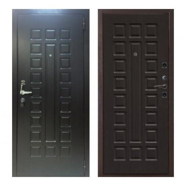 """входная дверь Лекс Гладиатор НЕО 2К, Цвет """"Венге"""""""