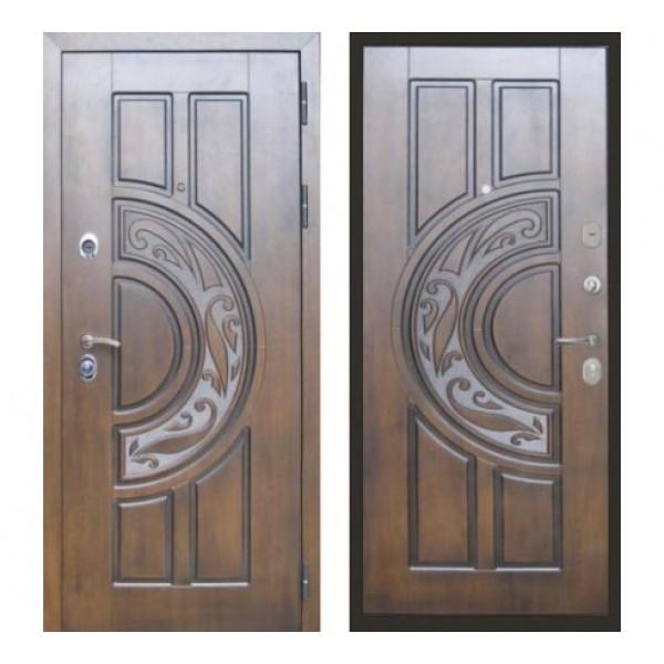 дверь Лекс Спартак Cisa (Голден патина черная  - панель №27: