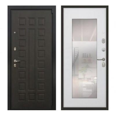 """дверь Лекс Неаполь Mottura / Cisa, Цвет """"Белый ясень"""" зеркало №37"""