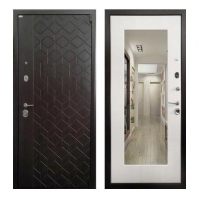 дверь Ратибор Квант 3К с зеркалом