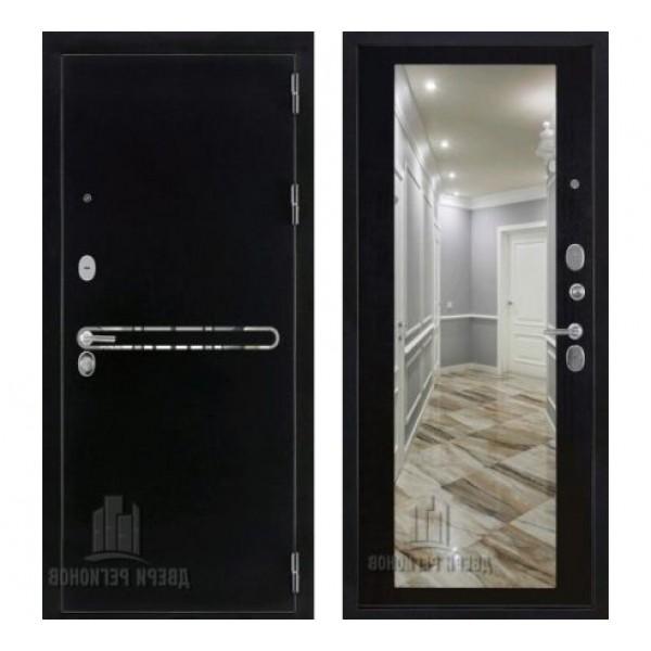 """дверь с зеркалом Regidoors Президент S1Z, Цвет """"Венге"""""""