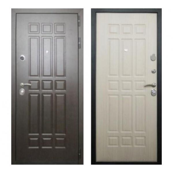 """входная дверь Rex 8, Цвет """"Беленый дуб"""""""