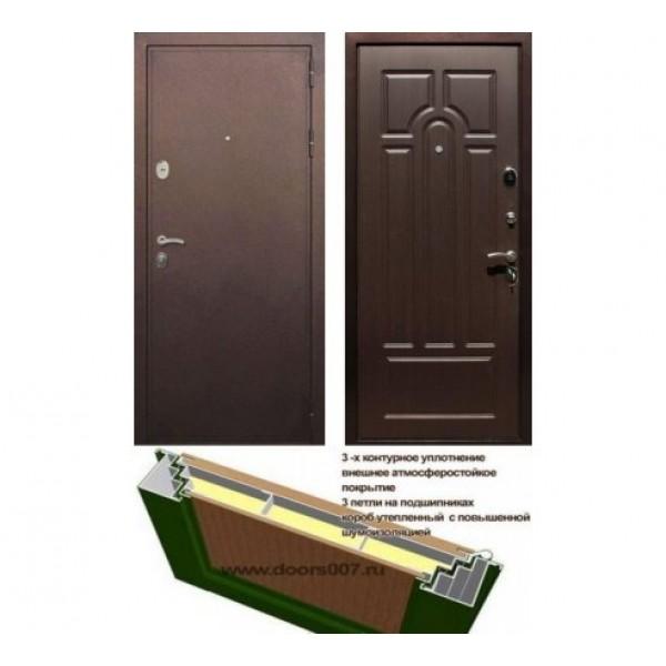 """входная дверь Rex 5А, Цвет """"Венге"""""""