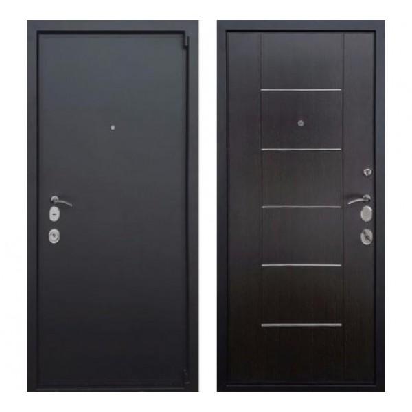 """входная дверь Rex 3 М """"Черный муар / Венге"""" замок Mottura (Италия)"""
