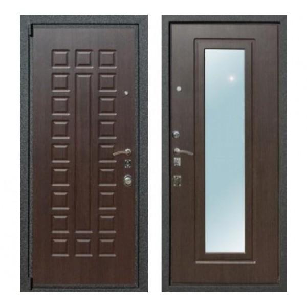 """входная дверь с зеркалом Rex 4A , Цвет """"Венге"""""""