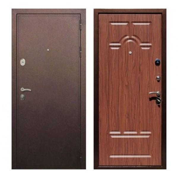 """входная  дверь Rex 5А, Цвет """"Орех тисненый"""""""