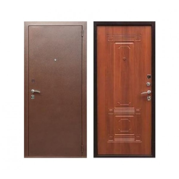 """входная дверь Rex 1, Цвет """"Орех итальянский"""""""