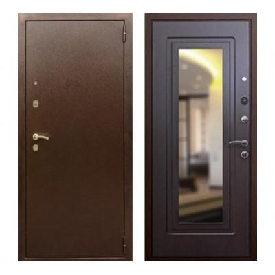 """дверь Rex 1А с зеркалом, Цвет """"Венге"""""""
