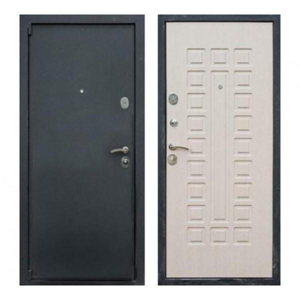 """входная дверь Rex 3, Цвет """"Беленый дуб"""""""