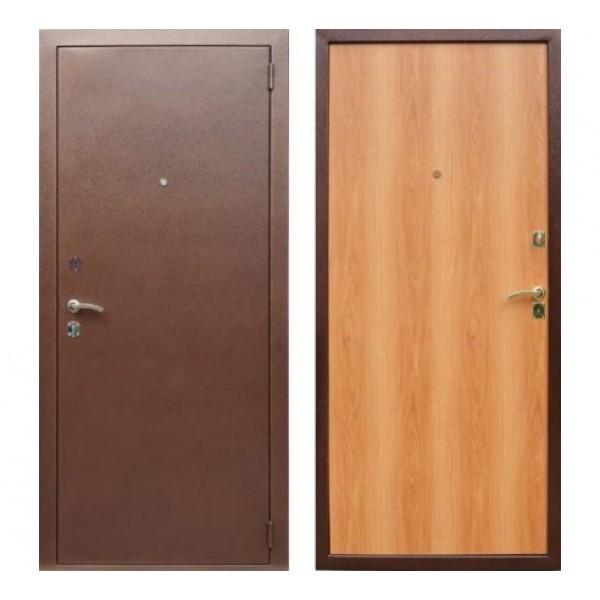 """входная дверь Rex Эконом, Цвет """"Орех миланский"""""""