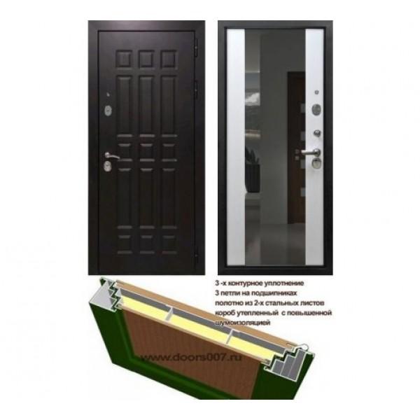 """входная дверь Rex 8 СБ-16 """"Лиственница бежевая"""""""