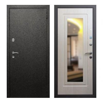 """дверь Rex Верона с зеркалом """"Беленый дуб"""""""