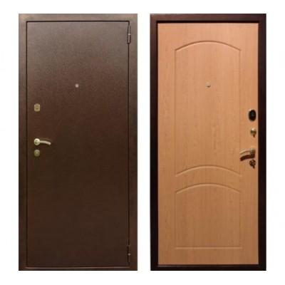 """дверь Rex 1А Латунь, Цвет """"Дуб"""""""