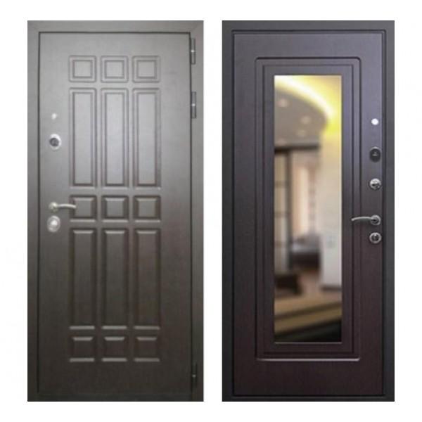"""входная дверь Rex 8 с зеркалом, Цвет """"Венге"""""""